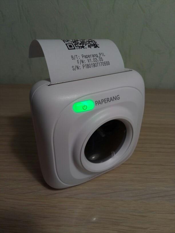 Impressoras Paperang Portátil Bluetooth