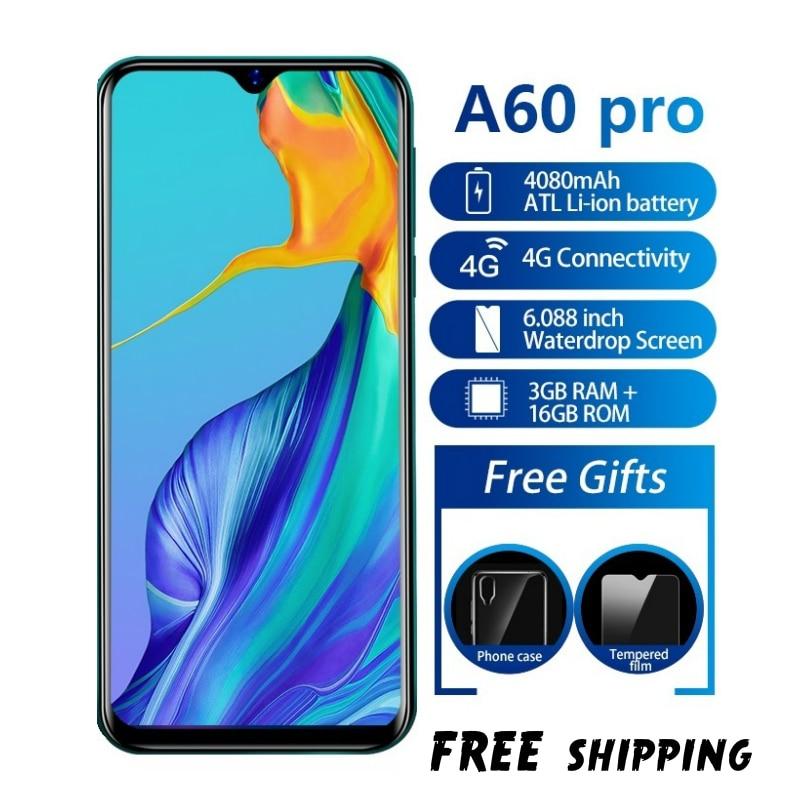 Оригинальный смартфон 6,1 дюйма, 19,2: 9, 4080 мАч, Android 8,1, 1 Гб + 16 ГБ, 13,0 МП, быстрая доставка
