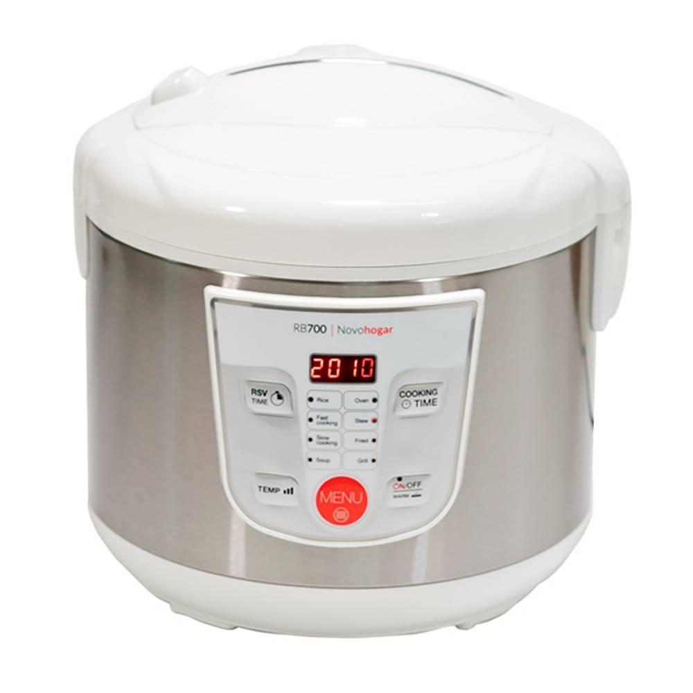 Kitchen Robot Multifunction, Programmable 24 H. Capacity 5L. 8 Menus 8 Programs. Screen And Cookbook (White)