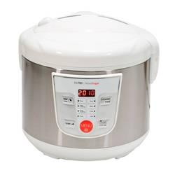 Robot kuchenny wielofunkcyjny  programowalny 24 H. Pojemność 5L. 8 menu 8 programów. Ekran i książka kucharska (biały) w Wolnowary od AGD na