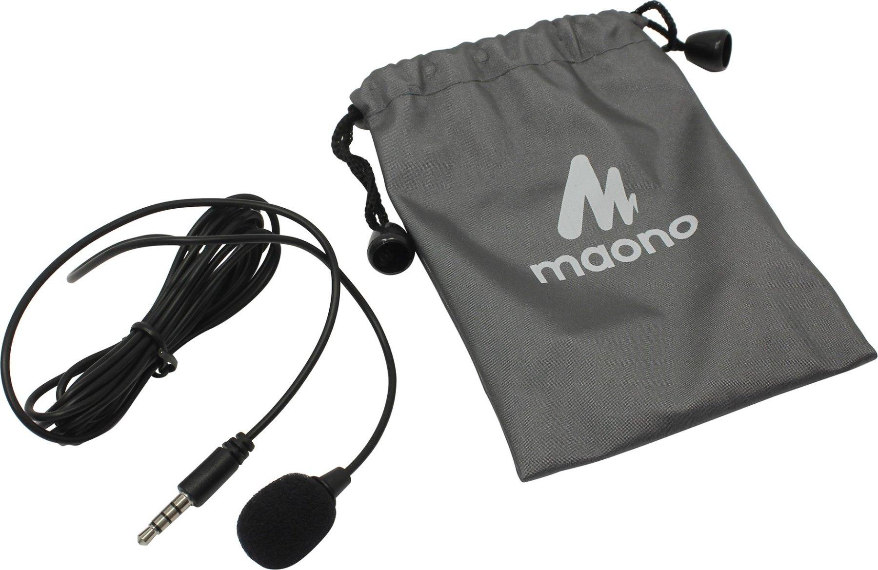 Lavalier microphone maono au 402l (black)|Microphones| - AliExpress