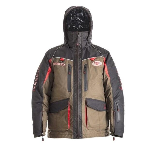 Мужской костюм для зимней рыбалки, непромокаемый непотопляемый для безопасности на воде 2