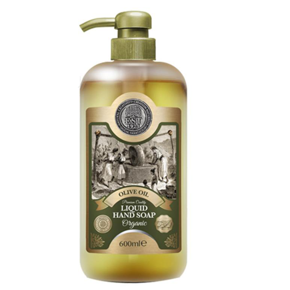 Organic Liquid Soap With Olive Oil Hand Soap Beauty Products Skincare Cosmetics Antibacterial Soap Lotion 600 Ml