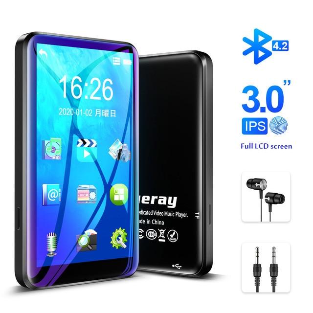 Lecteur MP3 à écran tactile avec haut parleur intégré Bluetooth lecteur de musique Radio HiFi 8 go baladeur hi res Audio E Book