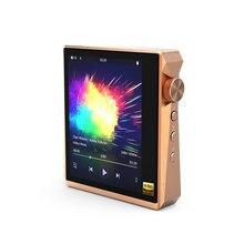 Hidizs-REPRODUCTOR de música portátil AP80 Pro con Bluetooth, alta resolución, LDAC con Audio FM, carcasa de acero inoxidable oro rosa limitada