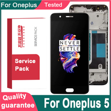 """5.5"""" OLED / AMOLED For Oneplus 5 A5000 LCD Display Touch Screen Digitizer Assembly For OnePlus 5 1+5 LCD Replacement TFT Quality"""