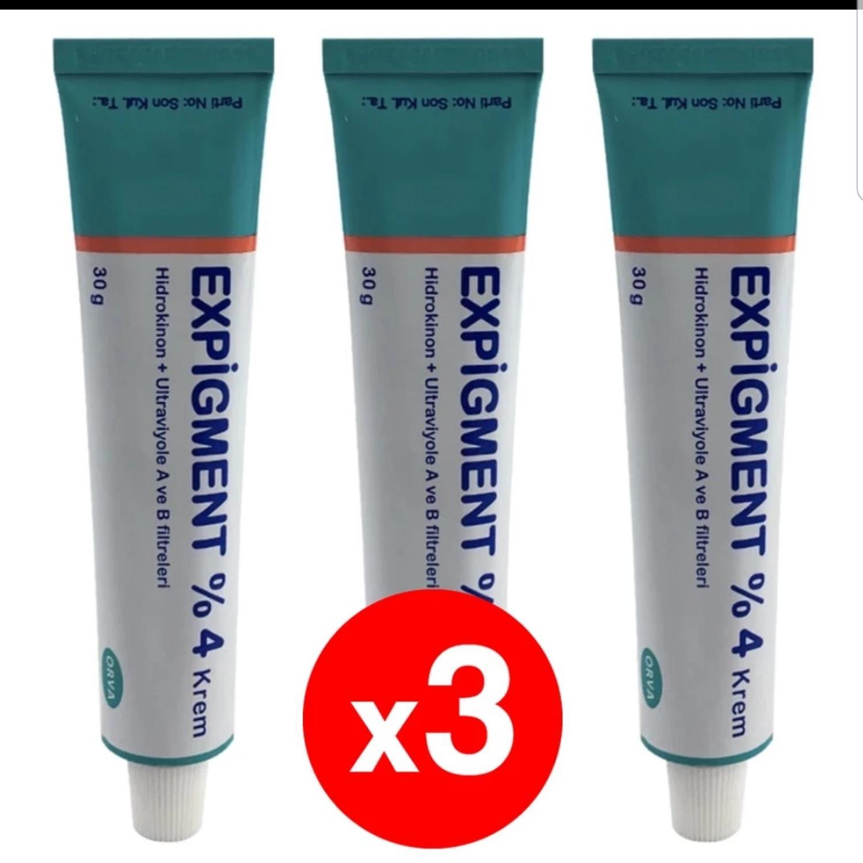 Экстракт гидрохинона 4% для лица и кожи, лечение акне, отбеливание и Осветление кожи, мелазма, 3 упаковки