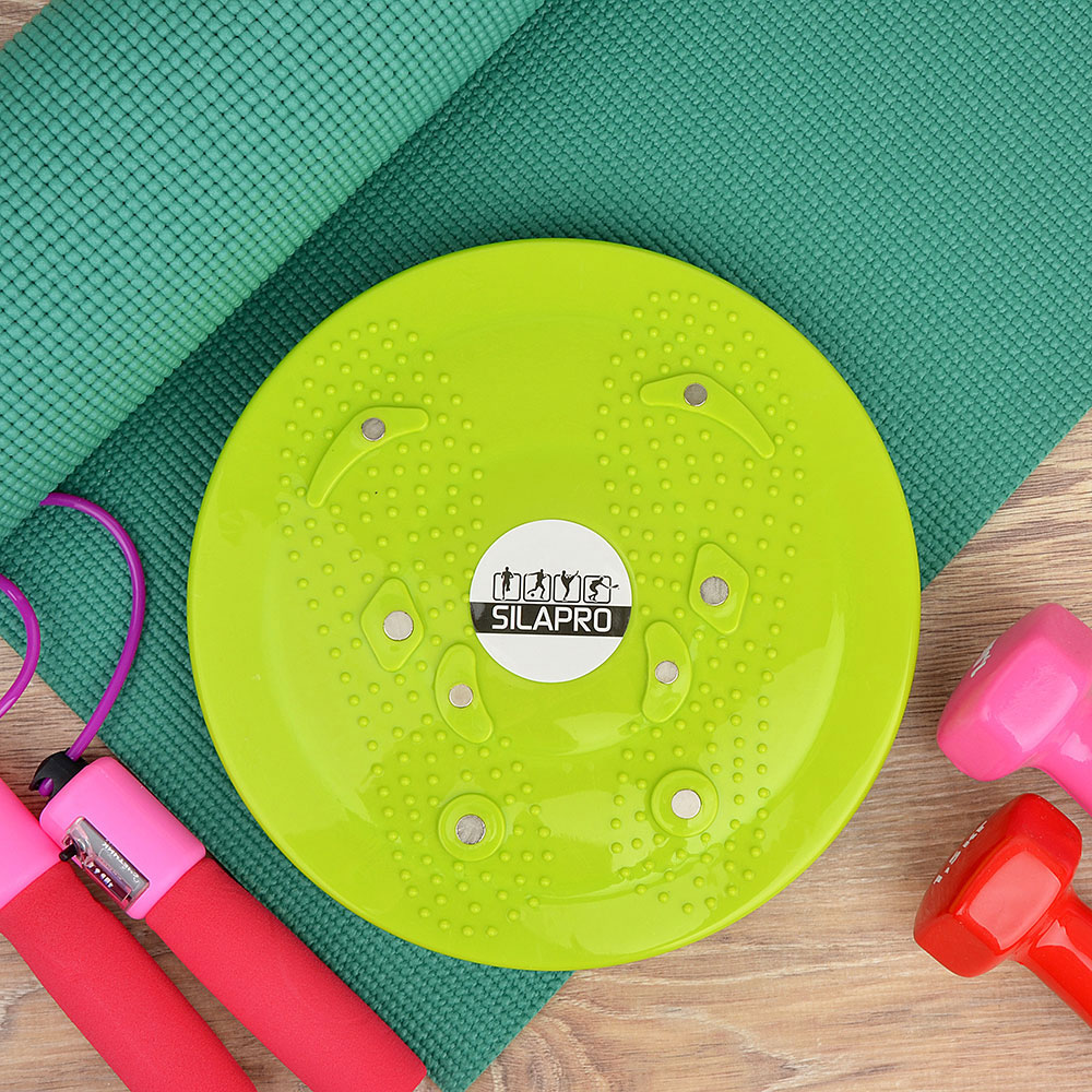 Balance Board For Yoga Fitness Stability Disc Swivel Board Balance Board Twisted Disc Fitness Equipment