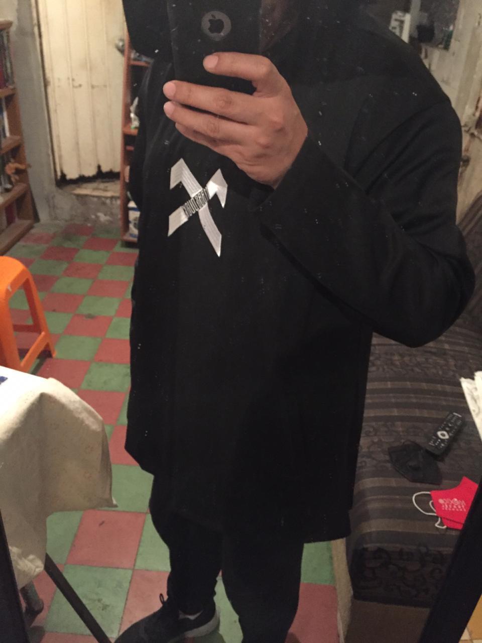 Mens Oversize Long Cloak  Hoodies photo review