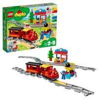 Projektant Lego Duplo 10874 pociąg parowy тяге