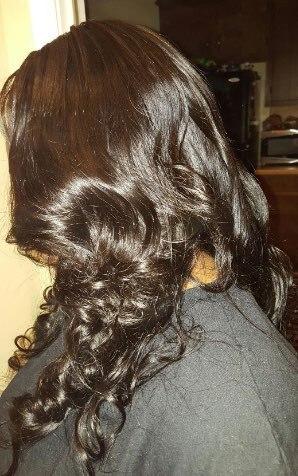 Dejavu Loose Wave Bundles 4 Bundles Deal Non-Remy Hair Bundles Natural Color Human Hair Bundles Hair Extension Cabelo Humano photo review