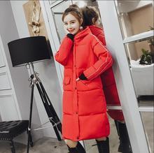 Nouveaux manteaux chaud dhiver bien coton veste à capuche vestes femmes veste poche fermeture vêtements éclair de sortie dhive