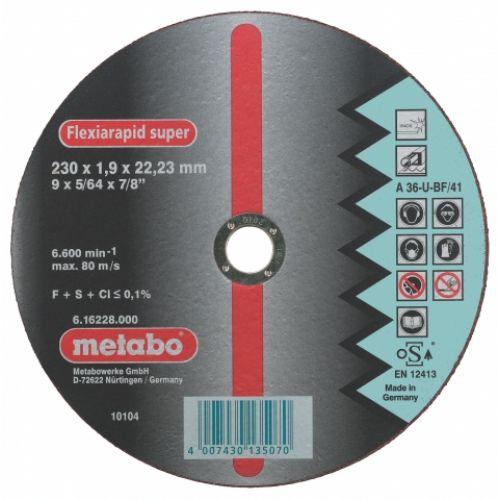 Circle Cutting METABO 125х0. 8x22 616209000
