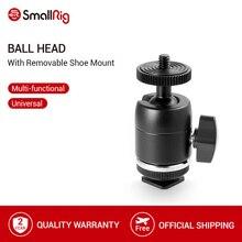 SmallRig Shoe Mount wielofunkcyjna głowica kulowa ze zdejmowanym uchwytem na buty do aparatów Canon/Nikon/Olympus/Panasonic 1875
