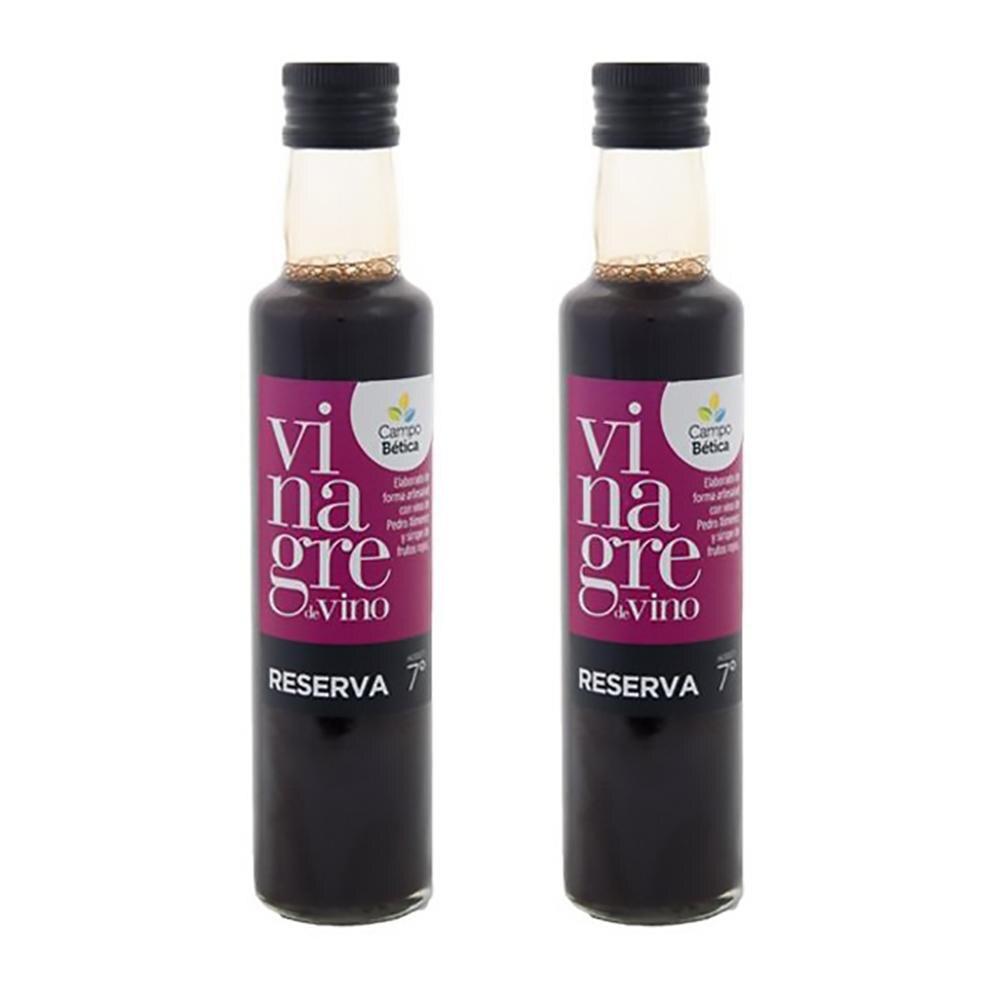 Vinagre Balsámico Reserva de extractos de Frutos Rojos con vino Pedro Ximénez 2 UNIDADES x 250 ml