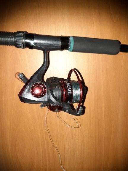Carretilhas de pesca Superior Carretel Fiação