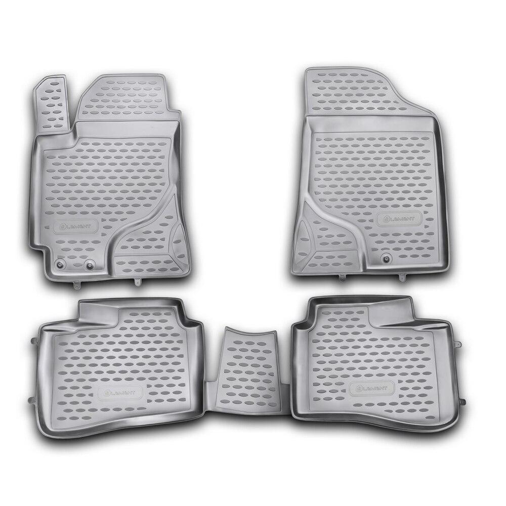 Floor Mats For KIA Cerato 2009-2013, 4 PCs NLC.25.26.210h