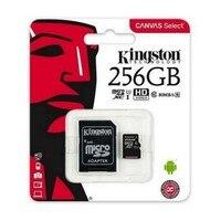 Cartão de memória micro sd com adaptador kingston sdcs2 100 mb/s