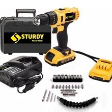 Driver-Bit Percussion Ce 24-V Bench-Charger Bosch Hammer-Drill Cordless Dual-Gear Li-On-Fence