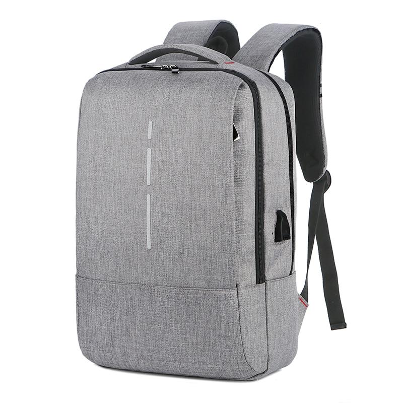Laptop Backpacks 14 15.6 Inch School Fashion Travel Male Mochilas Feminina Casual School Bag USB Charging Bagpacks For Men Boys