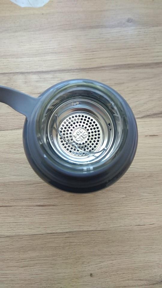 JOUDOO 700ml 1000ml Portable Glass Water Bottles Outdoor Space Bottle Sports Water Bottle Leak proof Bike Climbing Gift 35-in Water Bottles from Home & Garden on AliExpress