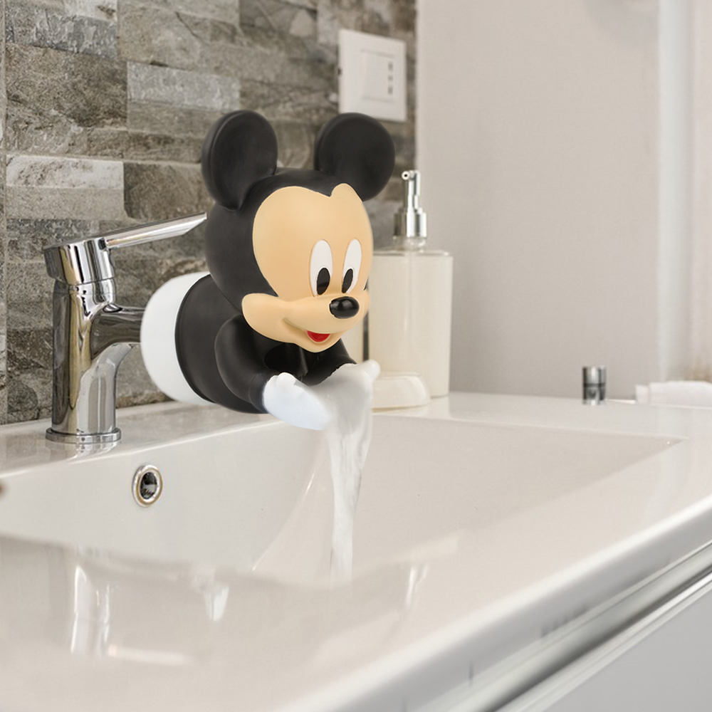 Kids Water Tap Faucet Extender Water Saving Cartoon Silicone Faucet Extension Tool Help Children Washing Hand Water Tap Extender