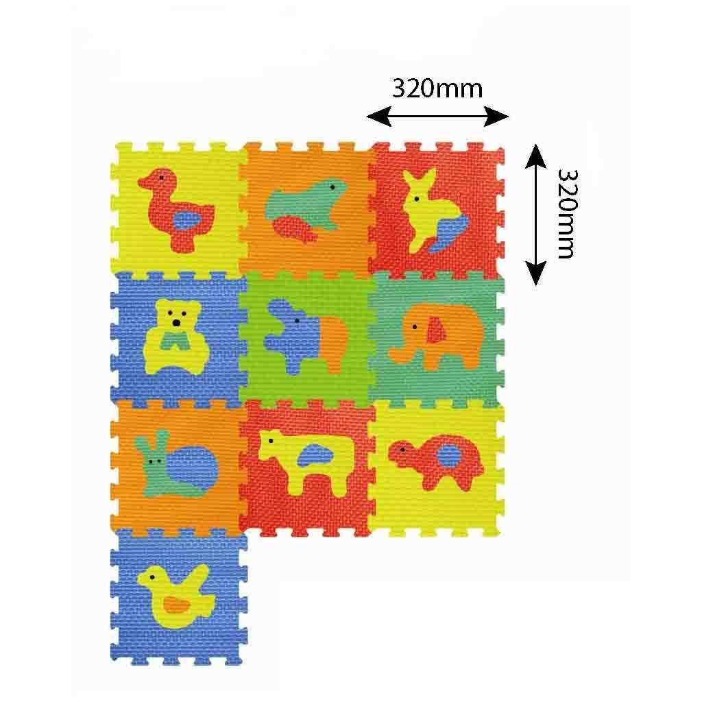Ebebek Детские и игрушки Eva Детские Развивающие головоломки игровой коврик 10 шт