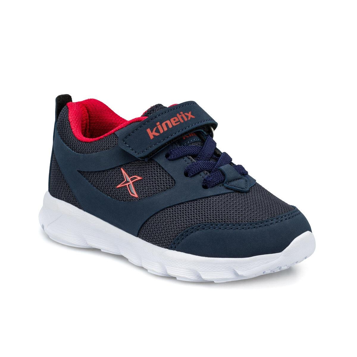 FLO ALMERA J Navy Blue Male Child Hiking Shoes KINETIX
