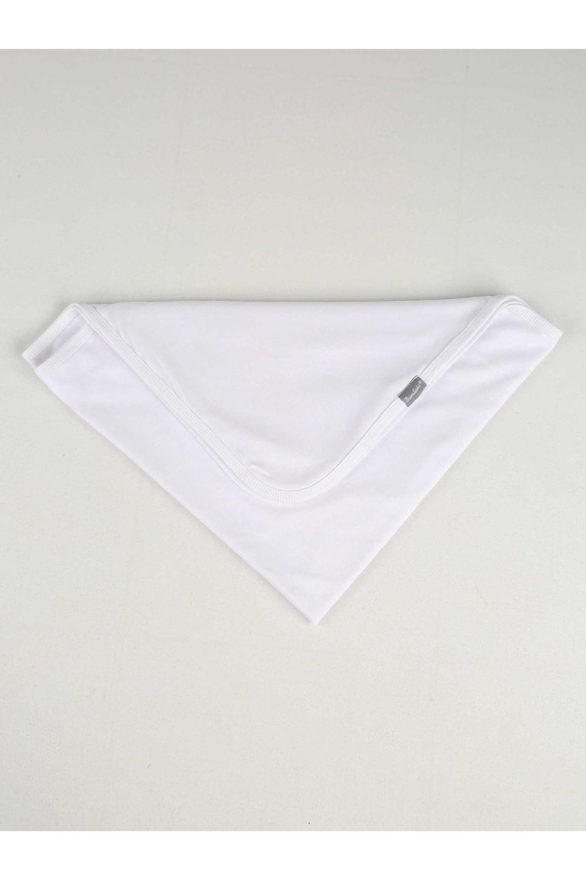White Newborn Baby Blanket