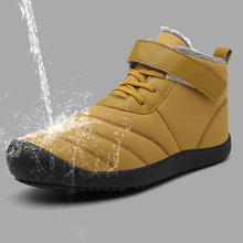 Super Warm Men Snow Boots Unisex Quality Winter for Waterproof Shoes Mens Ankle With Fur 7 Colors