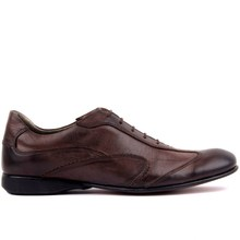 Sail Lakers Brown Leather Men S Casual Shoes