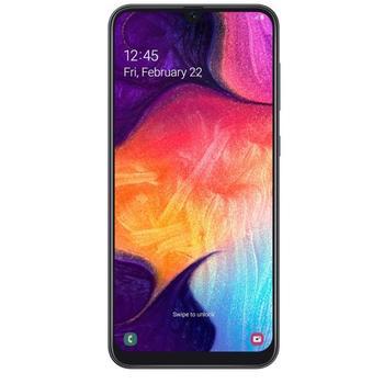 Перейти на Алиэкспресс и купить Смартфон Samsung A505 Galaxy A50, 6,4 дюйма, 4 Гб + 128 ГБ, две Sim-карты, черный