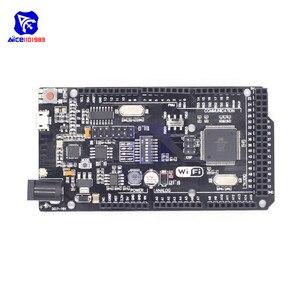diymore Mega2560 WiFi R3 ATmega2560 ESP8266 32Mb Memory Micro USB to TTL Serial CH340G for Arduino Mega NodeMCU WeMos ESP8266(China)