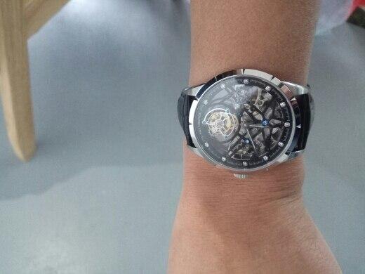 -- Relógio Masculino Esqueleto