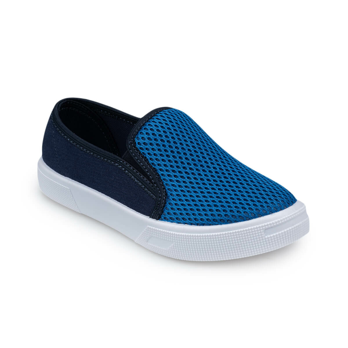 FLO 91.511348.F Blue Male Child Slip On Shoes Polaris
