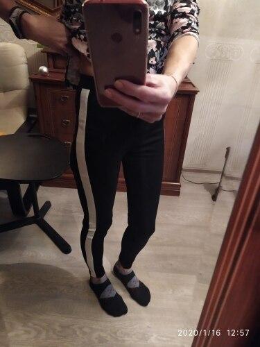 SweatyRocks Contrast Panel Side Skinny Ankle Jeans 2018 Summer Straight Leg Zipper Fly Pants Women Black Sporting Striped Pants Pants & Capris    - AliExpress