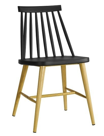 Chair CAMUS Metal Black