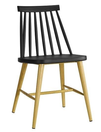 Chair CAMUS Metal Black