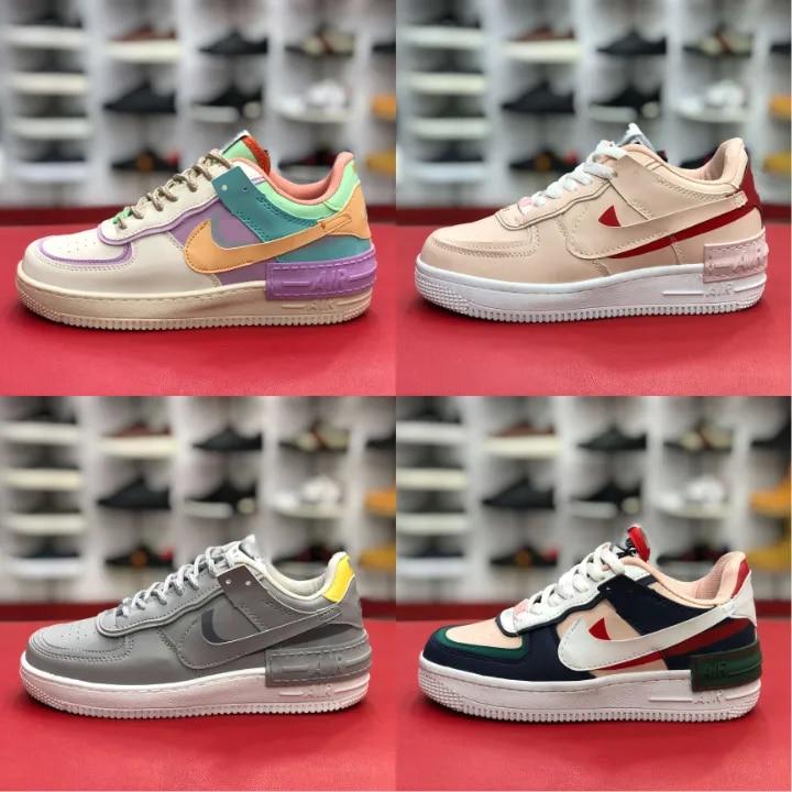Nike Air Force ombre couleur femmes chaussures nouvelle saison baskets Tennis chaussures formation femmes chaussures de sport réplique