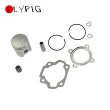 Поршневые кольца головки блока цилиндров Базовый комплект прокладок иглы для YAMAHA PW80 PY80 PW PY 80 80cc Dirt Pit Kid велосипед Мотоцикл Запчасти D20