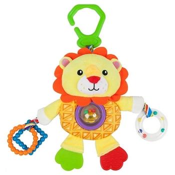Aktywność miękka zabawka dla niemowląt Nenikos Lion + 3m 112238 tanie i dobre opinie