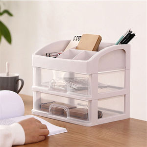 Transparent Makeup Storage Box Drawer Organizer Boxes For Jewelry Cosmetic Storage Bins High Quality Desktop Makeup Organizador