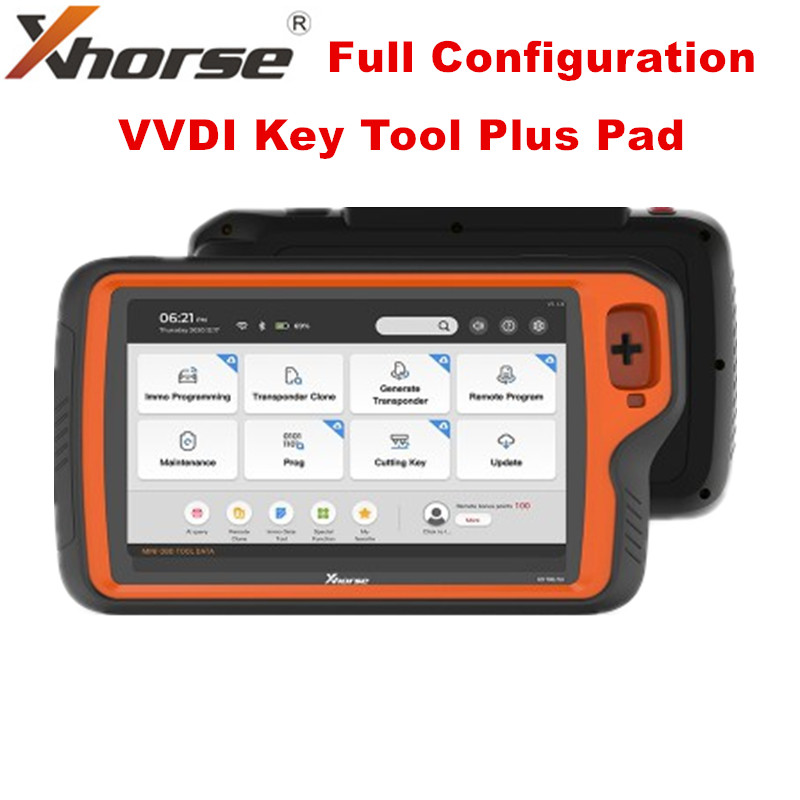 Global Version Xhorse VVDI Key Tool Plus Pad Full Configuration All-in-One Programmer (EU in Stock!!!)