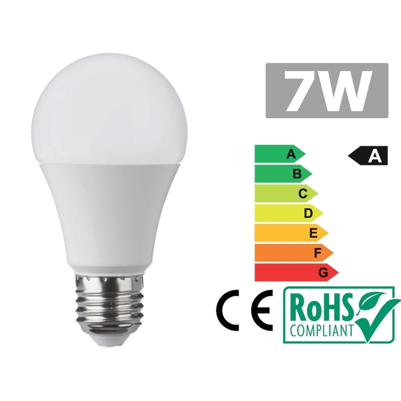 Led bulb E27 7W 3300K warm white