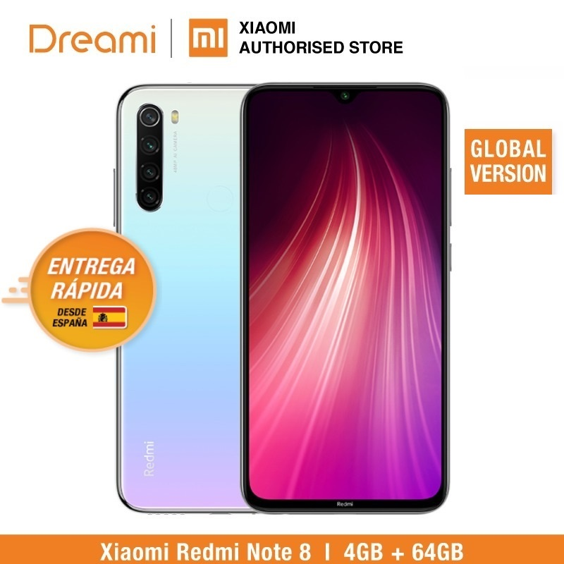 הגלובלי גרסה Redmi הערה 8 64GB ROM 4GB RAM (האחרון הגעה!), note8 64gb title=