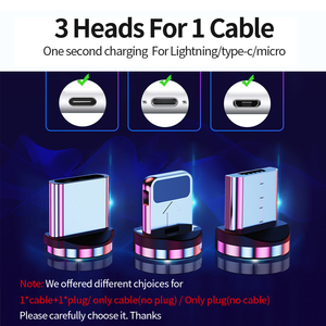 Image 5 - Udyr 2m Magnetic Micro USB Cable For iPhone Samsung Android Mobile Phone Fast Charging USB Type C Cable Magnet Charger Wire Cord