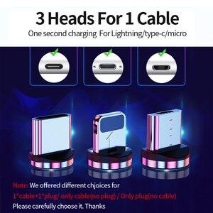 Image 5 - Udyr Cable Micro USB magnético para móvil, Cable Micro USB tipo C de carga rápida para iPhone, Samsung y Android