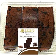 Lazarus biscuit two chocolate-400g.