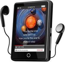 Lecteur MP3 32GB avec Bluetooth 5.1, 2.8 ''écran tactile Portable MP3 avec haut-parleur, Radio FM, enregistreur, lecteur de musique sans perte HiFi