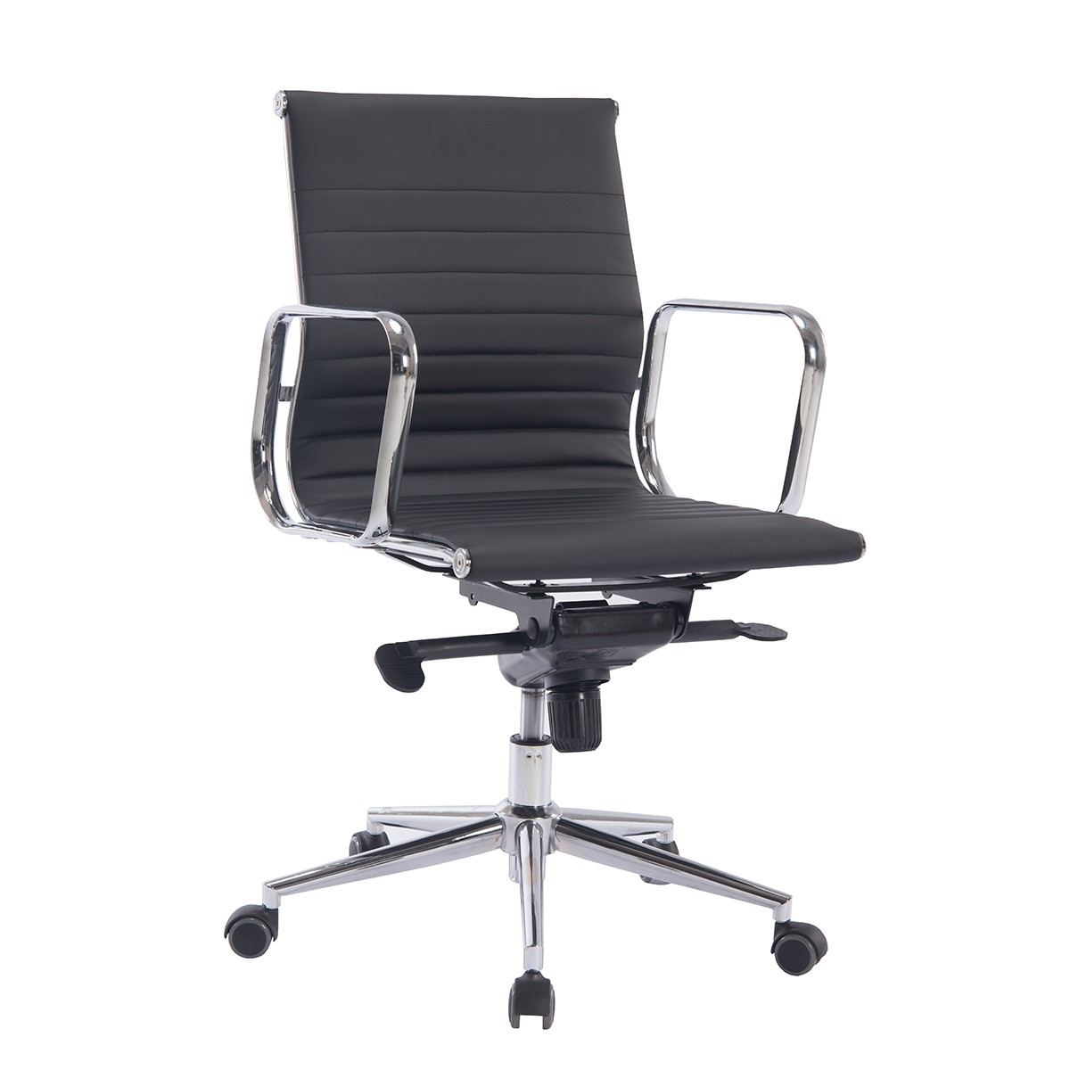 Office Armchair ARKANSAS, Rotatable, Similpiel Black